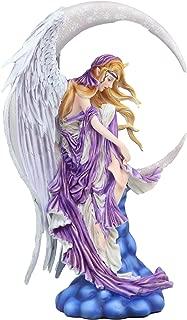 Ebros Large Celestial Crescent Moon Dreamer Fairy Statue 12