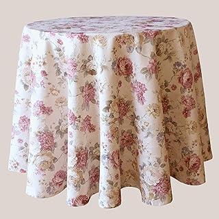 Abstrakte Dahlie-Blumen Waschbar Blumen Tischdecke