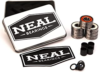 Neal Precision Skate Bearings/3 Different Types - Ceramic - Swiss - Titanium/608rs - Skateboard - Longboard - Inline - Scooter. The Best Bearings Guaranteed.