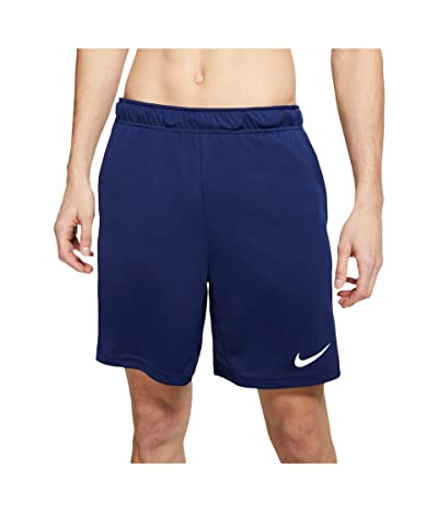 Nike Dry-FIT Knit Short 5.0 (Blue Void/Game Royal/White) Men