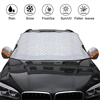 Automecar Car Windshield Snow Cover 4-Layer Thi...