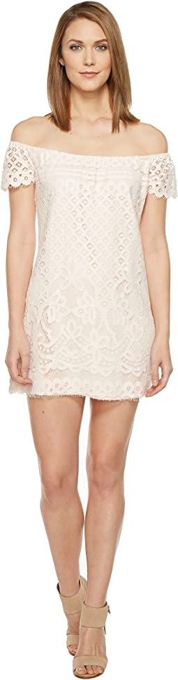 Brigitte Bailey - Michelina Off the Shoulder Lace Dress