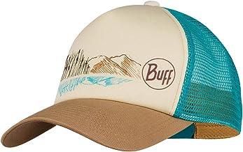 Buff Trucker Cap, Brown, One Size