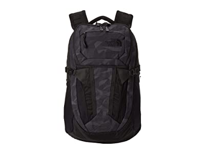 The North Face Recon (TNF Black Camo Jacquard/TNF Black) Backpack Bags