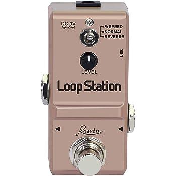 BLAXX MINI LOOPER PEDAL kleiner Looper Looper-Pedal für Gitarre und Bassgitarre