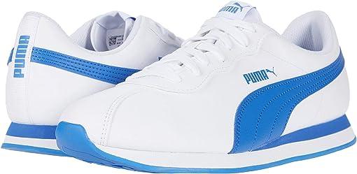 Puma White/Palace Blue