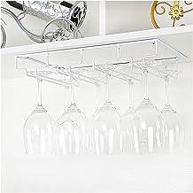 wijnglas rek Wijnglazen rek onder kast stemware rack wijnglas hanger rekken draad glazen houder Promotie Handig en efficië...