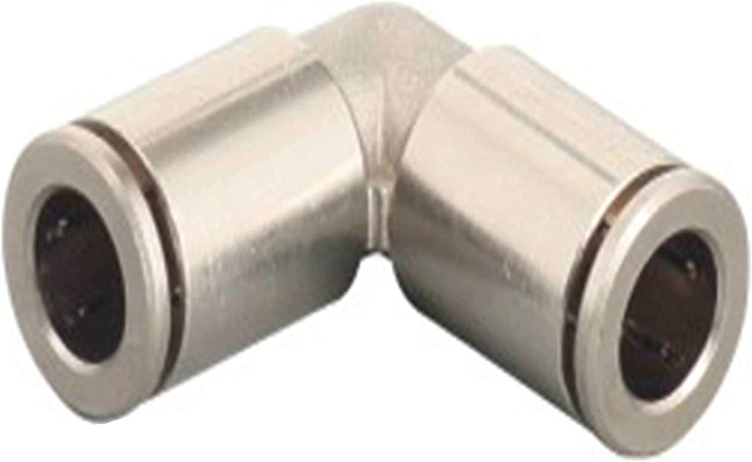 """Push to Connect Fitting Elbow 1//4/"""" Tube OD x1//2/""""NPT Male Adapter Steel Air Union"""