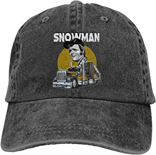 Jerry Reed Snowman Smokey and The Bandit Unisex Cowboy Hat Baseball Cap