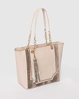 Multi Colour Luxe Carissa Tote Bag