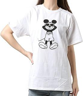 CHILLAX チラックス レディース 半袖 Tシャツ ミッキーマウス サンバーン 11927163