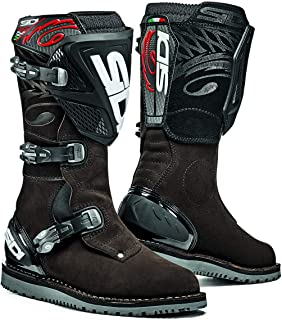 Sidi Trial Zero.1 Off Road Motorcycle Boots Brown Suede US11/EU45 (More Size Options)