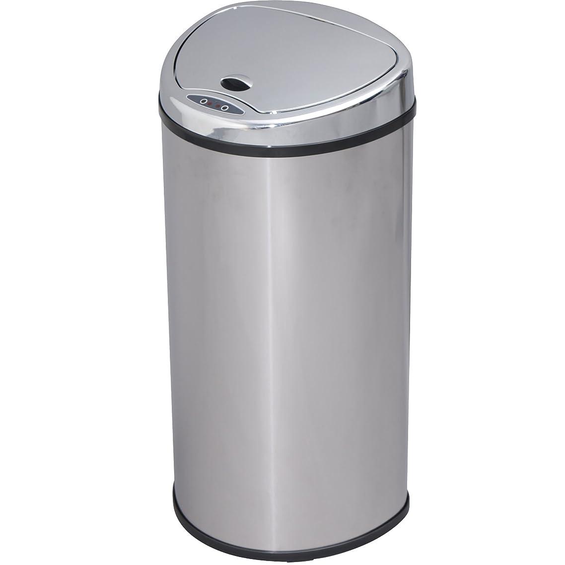 タブレット松構造的アイリスプラザ ゴミ箱 自動 開閉 センサー付 68L シルバー