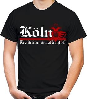 Köln Tradition Männer und Herren T-Shirt | Fussball Aufsti