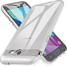 LK Case for Samsung Galaxy J3 Emerge / J3 2017 / J3 Prime / J3 Mission / J3 Eclipse / J3 Luna Pro/Sol 2 / Amp Prime 2 / Express Prime 2, Ultra [Slim Thin] TPU Silicone Protective Case Cover (Clear)