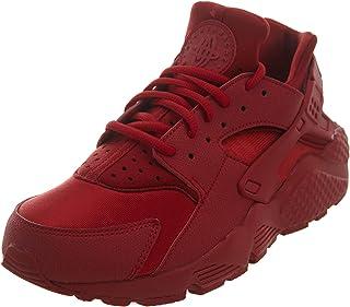 ladies red nike shoes
