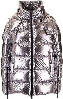 HOGAN Luxury Fashion Womens KJW32390060RCMB411 Silver Down Jacket | Fall Winter 19