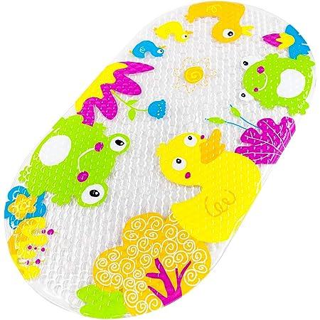 Tappetino da bagno antiscivolo con ventosa Anatra gialla Yolife per bambini