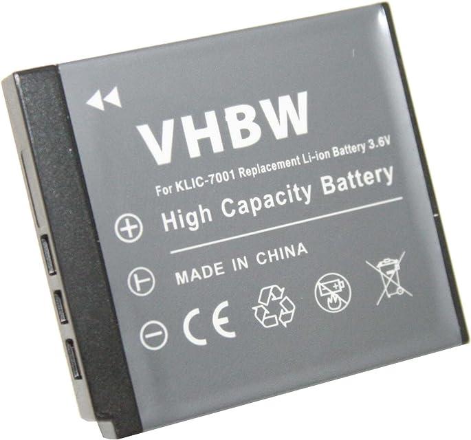 Batería LI-Ion (Ion Litio) para Polaroid Esta batería es Equivalente a Las Originales: T1031 T1234 T 1031 1234