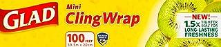 Glad Mini Cling Wrap, 100 ft