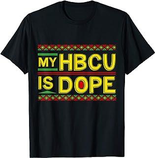 My HBCU Is Dope Dashiki Kente Cool Black History Month Gift T-Shirt