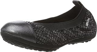 حذاء باليه مسطح للفتيات من GEOX Jr Piuma 60