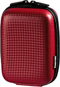 Hama Hardcase Carbon Style 60L Bag for Camera Red...
