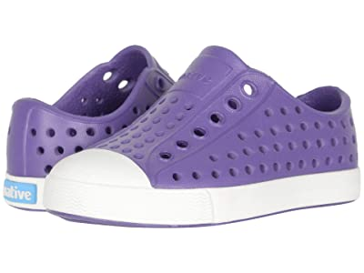Native Kids Shoes Jefferson (Toddler/Little Kid) (Starfish Purple/Shell White) Girls Shoes