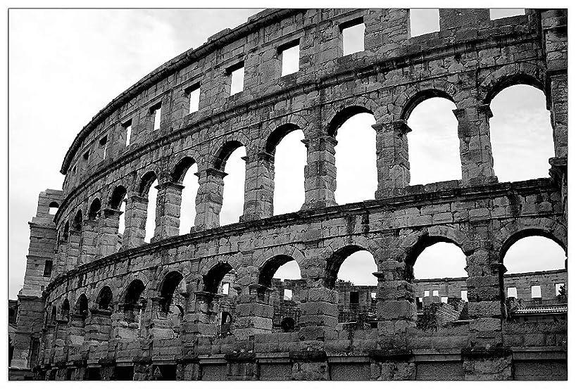 ArtPlaza TW93356 Art Studio - Colosseo Decorative Panel 39.5x27.5 Inch Multicolored