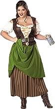 California Costumes Women's Plus Size Tavern Maiden Costume
