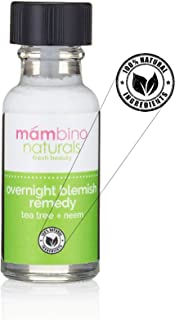 Mambino Organics Overnight Blemish Roll On Tea Tree + Neem 15 ml