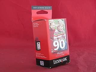Lexmark 90 (12A1990) Photo OEM Genuine Inkjet/Ink Cartridge (450 Yield) (Storage Unit Included) - Retail