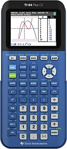 Texas Instruments TI-84 Plus CE Blueberry Graphing Calculator - New