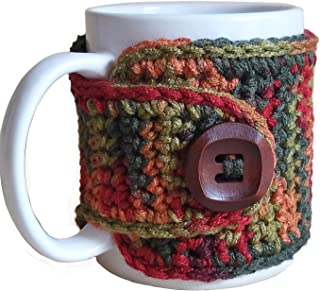 Fall Coffee Mug Cozy Sleeve