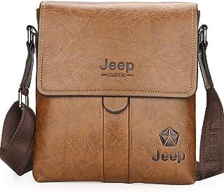 Jeep Bag For Men,Coffee - Shoulder Bags