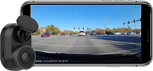 Garmin 010-02062-00 Dash Cam Mini, Car Key-Sized Dash Cam, 140-Degree Wide-Angle Lens, Captures 1080P HD Footage, Ver...