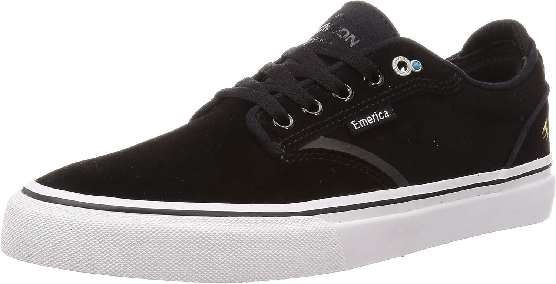Emerica Men's Dickson Low Top Vulc Skate Shoe : Clothing, Shoes & Jewelry