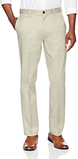 Amazon Brand - Buttoned Down Men's Relaxed Fit Flat Front Non-Iron Dress Chino Pant