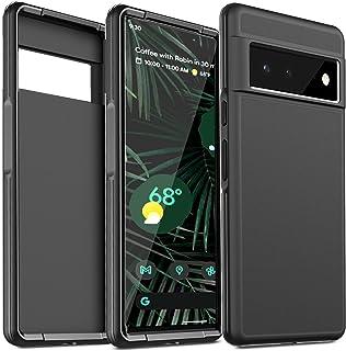 IMBZBK Shockproof Designed for Google Pixel 6 Pro 5G Case (Not FIT Pixel 6), Matte Hard PC Back & Flexible Frame [Military...