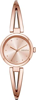 DKNY Women's Quartz Wrist Watch analog Display and Stainless Steel Strap, NY2812
