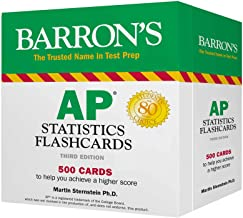 AP Statistics Flashcards (Barron's Test Prep)