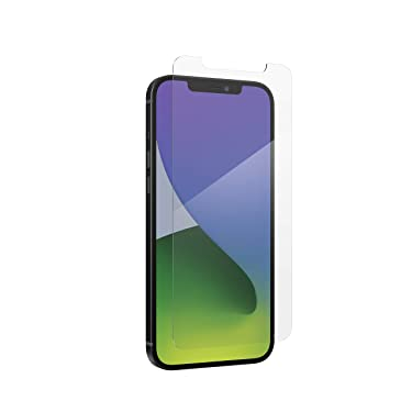 ZAGG InvisibleShield Glass+ Screen Protector – High-Definition Tempered Glass Made for iPhone 12 Pro Max – Impact & Scratch Protection, Clear, 200106693