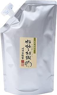 川津食品 川津家謹製 粒柚子胡椒 赤 500g