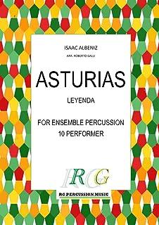 ASTURIAS: Leyenda ensemble percussion