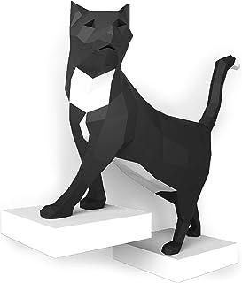 ORIGADREAM, Kit Tom il gatto NUOVO PUZZLE 3D MODERNO di assemblarsi per la decorazione della parete FAI DA TE PAPERCRAFT D...