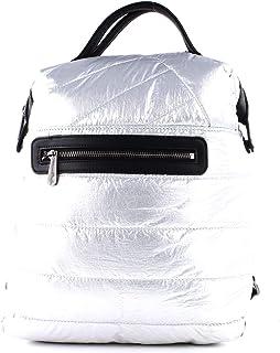 Fritzi aus Preussen Damen Harper Mini Metal Rucksackhandtasche Silber (Silver)