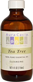 Aura Cacia Tea Tree, Essential Oil, 4 oz. bottle