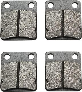 Road Passion Front Brake Pads for Kawasaki KVF360 A Prairie 360 (4x4) 2003-2010/KVF360 B Prairie 360 2003-2009/KVF360 C Prairie 360 (4x4) Hardwoods Green HD 2003-2010