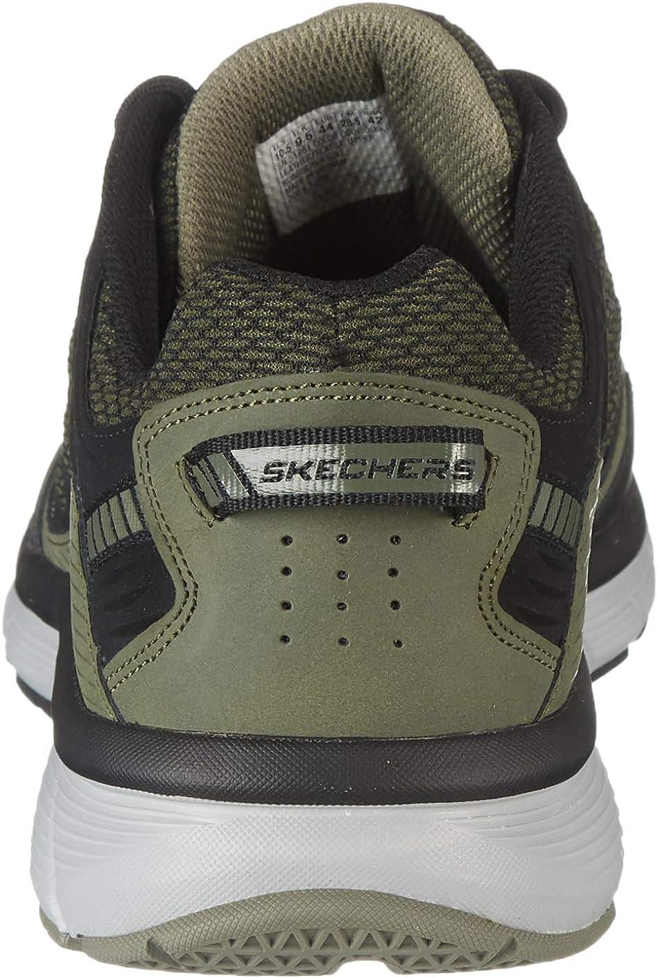 Skechers 51861 Bowerz Sneakers Verde Scuro Olive Black