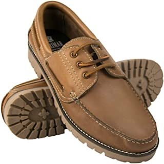 Zerimar Chaussures Bateau Hommes | Chaussures Bateau Homme Cuir | Bateau Homme | Mocassin Bateau Homme | Chaussure Casual ...